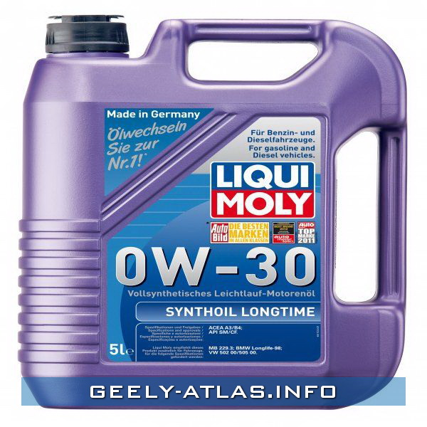 ФОТО Liqui Moly 8977 Масло моторное Liqui Moly Synthoil Long